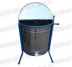 Ručna vrcaljka s plastificiranim košem, 4 okvira(LR)